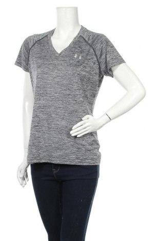 Дамска тениска Under Armour, Размер L, Цвят Сив, Цена 28,56лв.