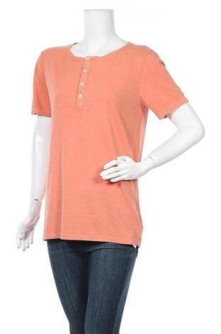 Γυναικείο t-shirt United Colors Of Benetton, Μέγεθος M, Χρώμα Πορτοκαλί, Βαμβάκι, Τιμή 13,92€
