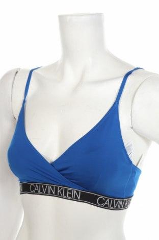 Γυναικείο μαγιό Calvin Klein, Μέγεθος M, Χρώμα Μπλέ, 85% πολυεστέρας, 15% ελαστάνη, Τιμή 28,61€