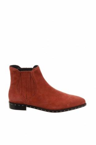Dámské boty  Rebecca Minkoff, Velikost 35, Barva Červená, Přírodní velur , Cena  1427,00Kč