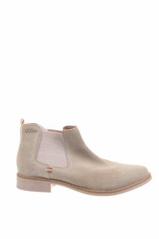 Dámské boty  S.Oliver, Velikost 42, Barva Béžová, Přírodní velur , Cena  1052,00Kč