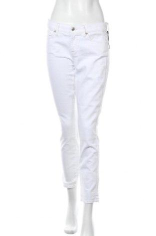 Γυναικείο Τζίν 7 For All Mankind, Μέγεθος M, Χρώμα Λευκό, 98% βαμβάκι, 2% ελαστάνη, Τιμή 46,82€