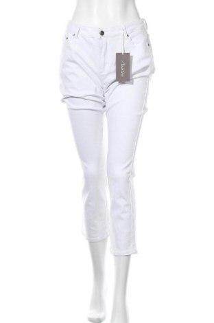 Дамски дънки Aniston, Размер XL, Цвят Бял, 98% памук, 2% еластан, Цена 34,80лв.
