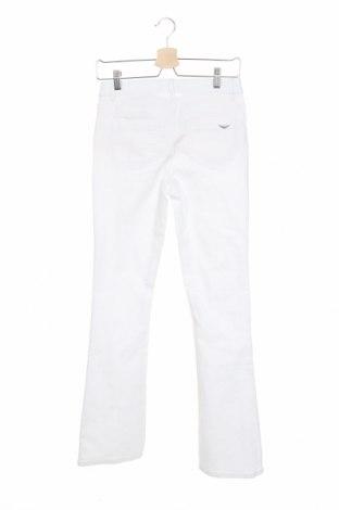 Дамски дънки Arizona, Размер XS, Цвят Бял, 65% памук, 33% полиестер, 2% еластан, Цена 39,50лв.