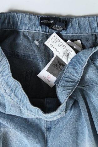 Дамски дънки Arizona, Размер L, Цвят Син, 62% памук, 28% полиестер, 10% еластан, Цена 34,80лв.