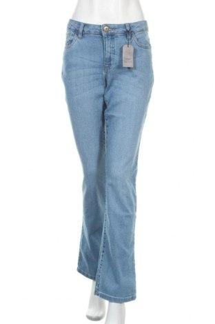 Дамски дънки Arizona, Размер L, Цвят Син, 79% памук, 19% полиестер, 2% еластан, Цена 53,72лв.