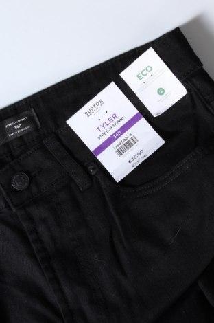 Дамски дънки Burton of London, Размер M, Цвят Черен, 98% памук, 2% еластан, Цена 37,95лв.