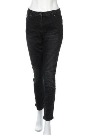Дамски дънки Cheer, Размер L, Цвят Черен, 98% памук, 2% еластан, Цена 39,00лв.