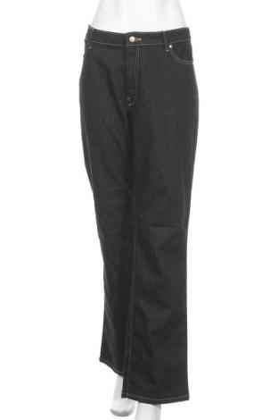 Дамски дънки Denver Hayes, Размер XL, Цвят Черен, 76% памук, 24% еластан, Цена 17,64лв.