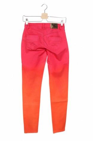 Дамски дънки Desigual, Размер XS, Цвят Многоцветен, 97% памук, 3% еластан, Цена 55,65лв.