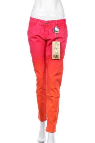 Дамски дънки Desigual, Размер L, Цвят Многоцветен, 97% памук, 3% еластан, Цена 55,65лв.
