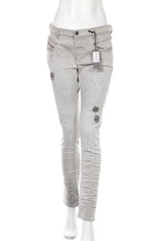 Γυναικείο Τζίν Diesel, Μέγεθος L, Χρώμα Γκρί, 98% βαμβάκι, 2% ελαστάνη, Τιμή 73,18€