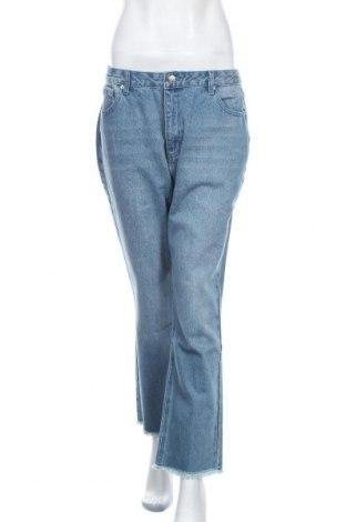 Дамски дънки Edited, Размер L, Цвят Син, 93% памук, 7% вискоза, Цена 51,75лв.