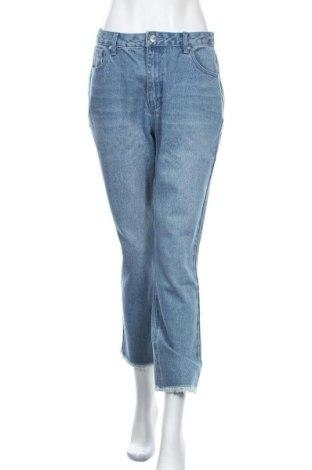 Дамски дънки Edited, Размер M, Цвят Син, 93% памук, 7% вискоза, Цена 48,00лв.