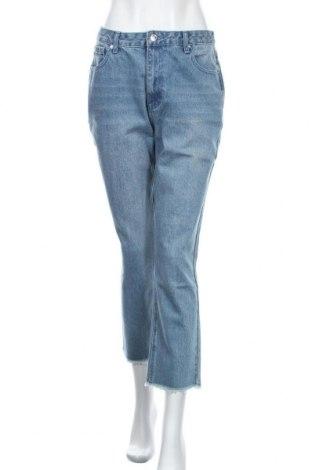 Дамски дънки Edited, Размер M, Цвят Син, 93% памук, 7% вискоза, Цена 41,40лв.