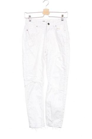 Γυναικείο Τζίν Fb Sister, Μέγεθος XXS, Χρώμα Λευκό, Βαμβάκι, Τιμή 16,05€