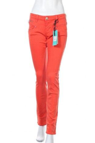 Дамски дънки Freeman T. Porter, Размер M, Цвят Оранжев, 92% памук, 6% полиестер, 2% еластан, Цена 84,27лв.
