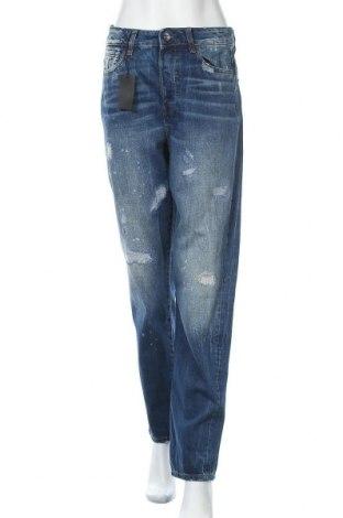 Дамски дънки G-Star Raw, Размер S, Цвят Син, 93% памук, 7% други материали, Цена 131,40лв.