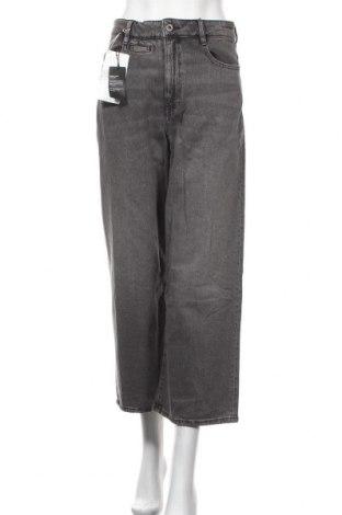 Дамски дънки G-Star Raw, Размер M, Цвят Сив, 99% памук, 1% еластан, Цена 159,87лв.