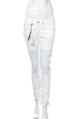 Дамски дънки G-Star Raw, Размер M, Цвят Бял, Памук, Цена 107,55лв.