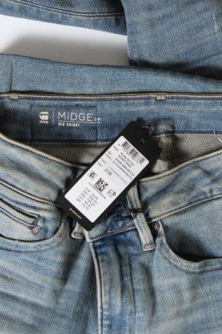 Дамски дънки G-Star Raw, Размер S, Цвят Син, 91% памук, 9% еластан, Цена 135,32лв.
