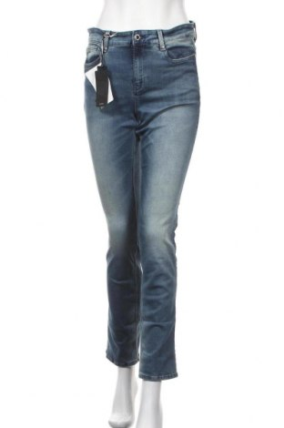 Дамски дънки G-Star Raw, Размер M, Цвят Син, 91% памук, 9% еластан, Цена 68,02лв.