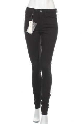 Дамски дънки G-Star Raw, Размер S, Цвят Черен, 35% памук, 31% вискоза, 31% полиестер, 2% еластан, Цена 143,40лв.
