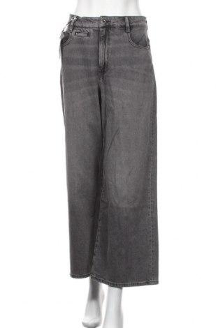 Дамски дънки G-Star Raw, Размер L, Цвят Сив, 99% памук, 1% еластан, Цена 159,87лв.