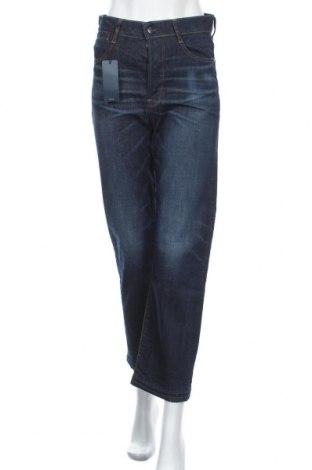 Дамски дънки G-Star Raw, Размер S, Цвят Син, 98% памук, 2% еластан, Цена 156,75лв.