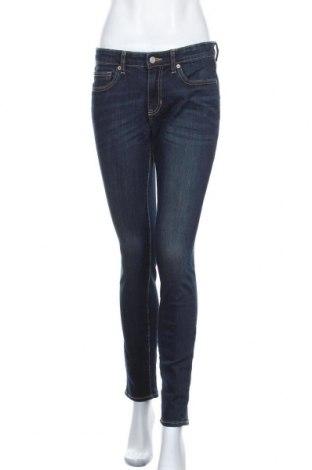 Дамски дънки Gap, Размер M, Цвят Син, 98% памук, 2% еластан, Цена 34,80лв.