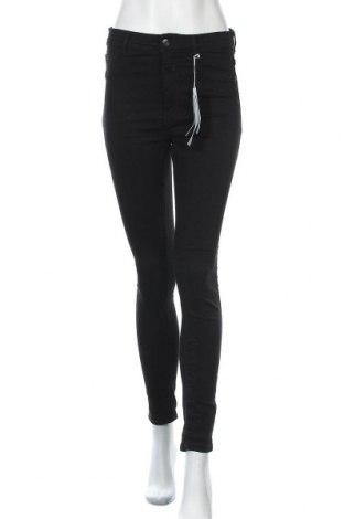 Γυναικείο Τζίν Gina Tricot, Μέγεθος L, Χρώμα Μαύρο, 98% βαμβάκι, 2% ελαστάνη, Τιμή 20,88€