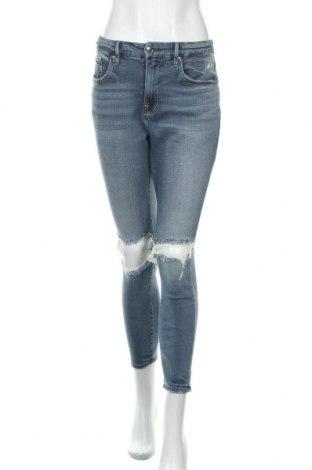 Γυναικείο Τζίν Good American, Μέγεθος L, Χρώμα Μπλέ, 48% lyocell, 45% βαμβάκι, 6% πολυεστέρας, 1% ελαστάνη, Τιμή 21,78€