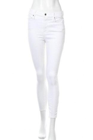 Γυναικείο Τζίν Good American, Μέγεθος M, Χρώμα Λευκό, 91% βαμβάκι, 9% ελαστάνη, Τιμή 21,78€