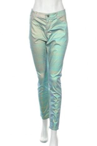 Дамски дънки H&M, Размер XL, Цвят Зелен, 70% памук, 27% полиестер, 3% еластан, Цена 24,00лв.