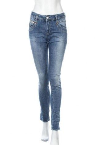 Дамски дънки Herrlicher, Размер S, Цвят Син, 98% памук, 2% еластан, Цена 59,15лв.