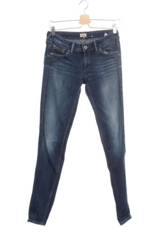 Дамски дънки Hilfiger Denim, Размер S, Цвят Син, 98% памук, 2% еластан, Цена 40,12лв.