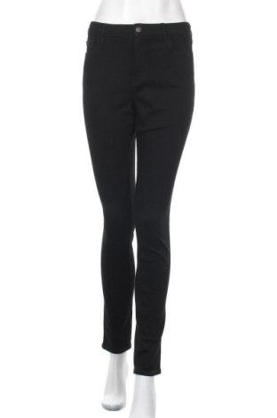 Дамски дънки Hollister, Размер L, Цвят Черен, 70% памук, 21% полиестер, 8% вискоза, 1% еластан, Цена 44,25лв.