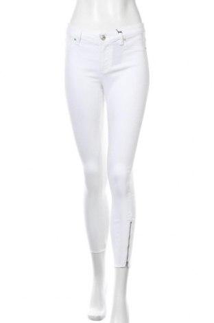 Дамски дънки Lascana, Размер S, Цвят Бял, 70% памук, 27% полиестер, 3% еластан, Цена 41,87лв.