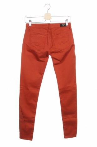Дамски дънки Le Temps Des Cerises, Размер XS, Цвят Оранжев, 97% памук, 3% еластан, Цена 27,00лв.