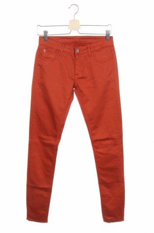 Дамски дънки Le Temps Des Cerises, Размер XS, Цвят Оранжев, 97% памук, 3% еластан, Цена 17,92лв.