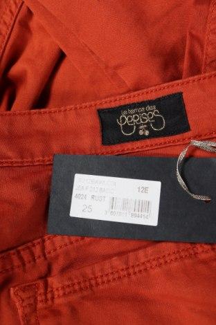 Γυναικείο Τζίν Le Temps Des Cerises, Μέγεθος XS, Χρώμα Πορτοκαλί, 97% βαμβάκι, 3% ελαστάνη, Τιμή 9,53€