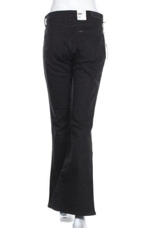 Дамски дънки Lee, Размер L, Цвят Черен, 65% памук, 17% полиестер, 16% вискоза, 2% еластан, Цена 31,27лв.