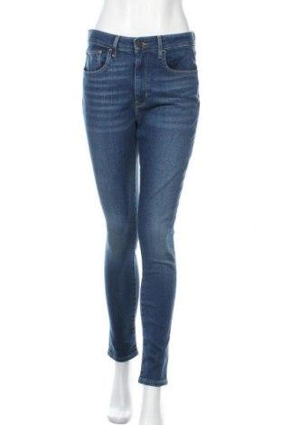 Дамски дънки Levi's, Размер M, Цвят Син, 97% памук, 3% еластан, Цена 111,75лв.