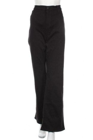 Дамски дънки Levi's, Размер XL, Цвят Черен, 62% памук, 28% вискоза, 8% полиестер, 2% еластан, Цена 95,40лв.