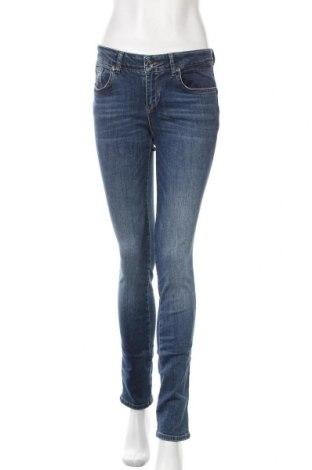 Дамски дънки Liu Jo, Размер M, Цвят Син, 99% памук, 1% еластан, Цена 48,00лв.