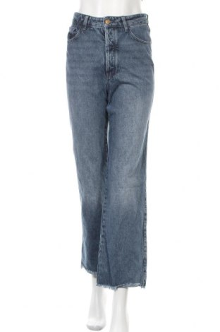 Дамски дънки Massimo Dutti, Размер S, Цвят Син, Памук, Цена 63,00лв.