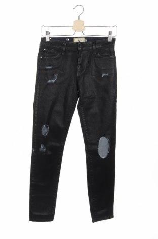 Дамски дънки Met, Размер XS, Цвят Черен, 98% памук, 2% еластан, Цена 66,24лв.
