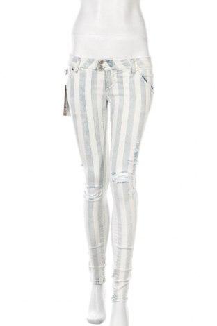 Дамски дънки Met, Размер S, Цвят Бял, 97% памук, 3% еластан, Цена 66,24лв.