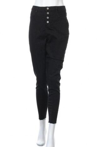 Γυναικείο Τζίν Missguided, Μέγεθος XL, Χρώμα Μαύρο, 75% βαμβάκι, 23% πολυεστέρας, 2% ελαστάνη, Τιμή 18,95€