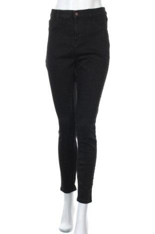 Дамски дънки New Look, Размер XL, Цвят Черен, 93% памук, 5% полиестер, 2% еластан, Цена 40,50лв.